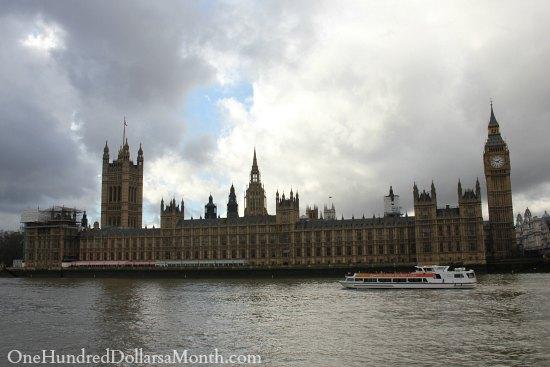 big ben houses of parliament river