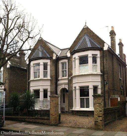 row houses near kew gardens london