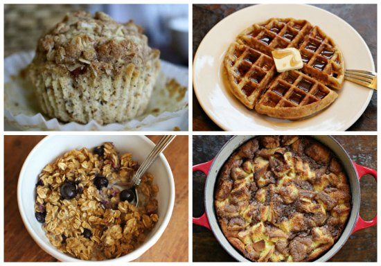 weekly menu plan breakfast ideas