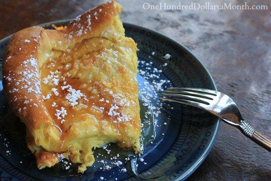 Dutch Breakfast Puff recipe