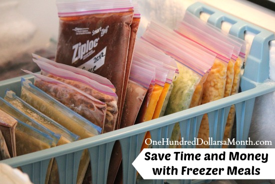 Save Time and Money with Freezer Meals