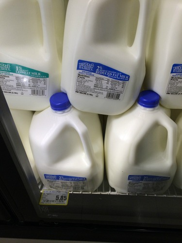 How Much Does milk Cost in Craig, Alaska