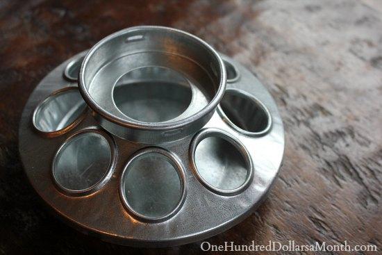 Jelly Bean Mason Jar chicke feeder