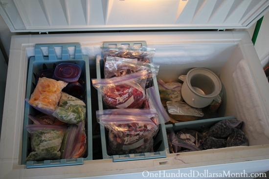 full chest freezer