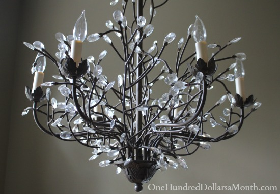 pottery barn CAMILLA 6-ARM CHANDELIER