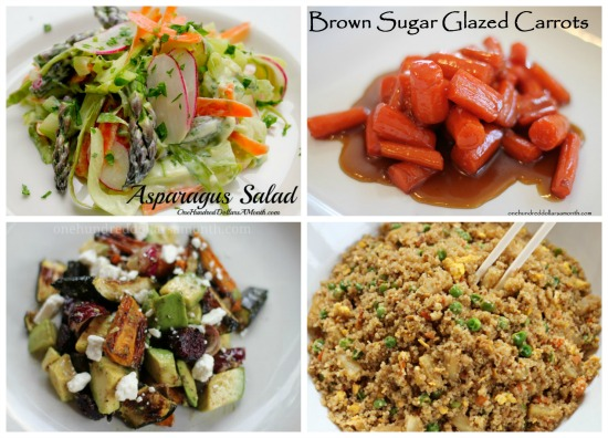 weekly menu plan ideas salads