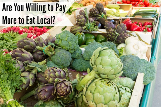 Are You Willing to Pay More to Eat Local