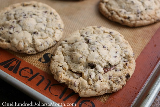 Chewy Reeses Stuffed Monster Cookies
