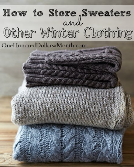 How To Store Sweaters And Other Winter Clothing One Hundred