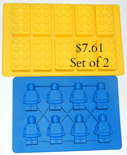 lego ice cube candy molds