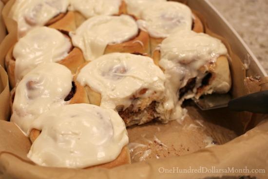 nutella cinnamon rolls recipe