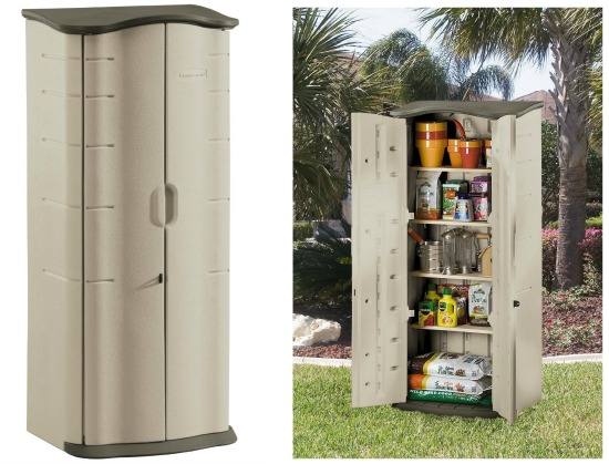 rubbermaid storage shed