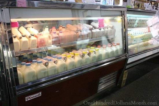 Lancaster Central Market Milk