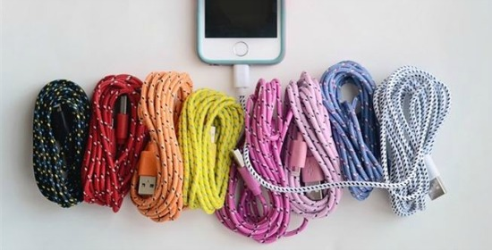 bungee iPhone cords