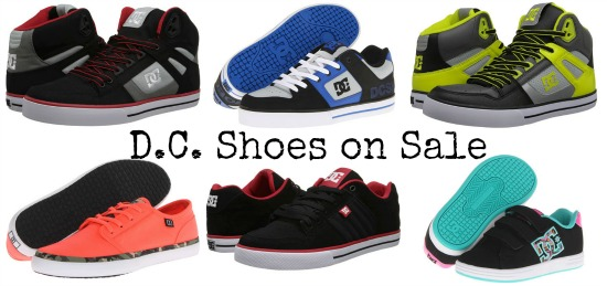 dc shoes on sale