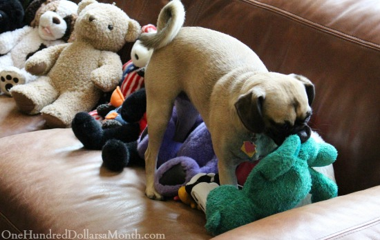 lucy the puggle dog stuffed animals