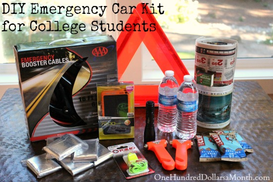 Diy Emergency Car Kit Ideas For College Students One