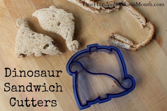 Dinosaur Sandwich Cutters