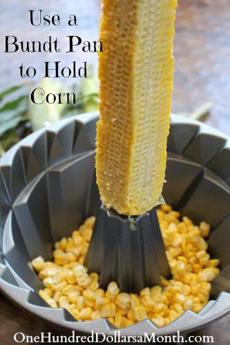 Way to Get Corn OFF the Cob