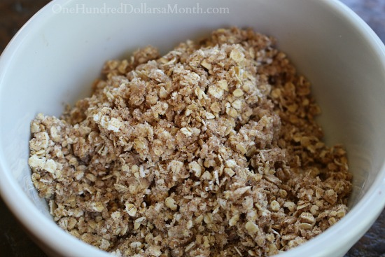 crumb topping recipe