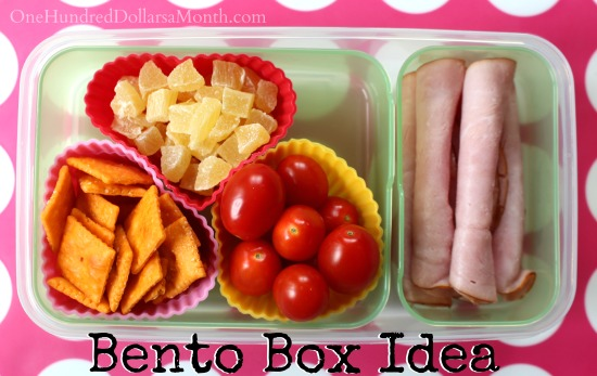 fun bento box ideas