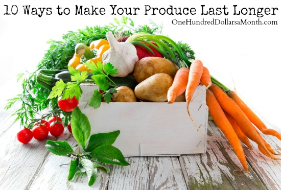 10 Ways to Make Your Produce Last Longer