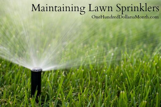 Maintaining Lawn Sprinklers