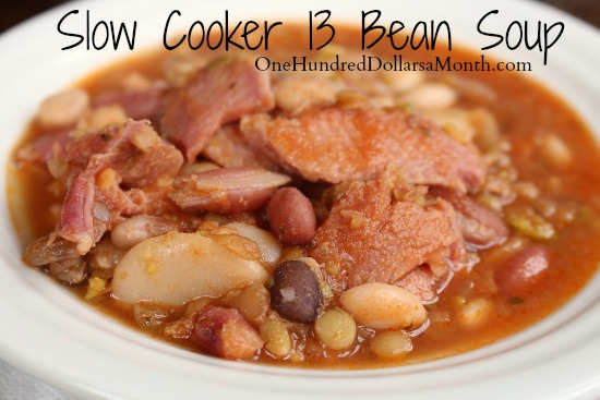 Slow-Cooker-13-Bean-Soup-Recipe-