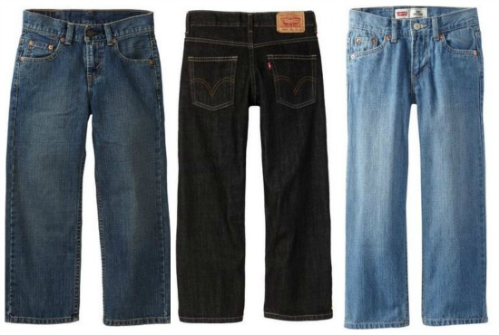 deals on boys levi jeans