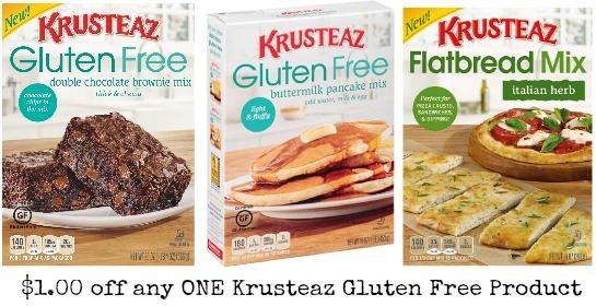 Krusteaz Gluten Free coupons