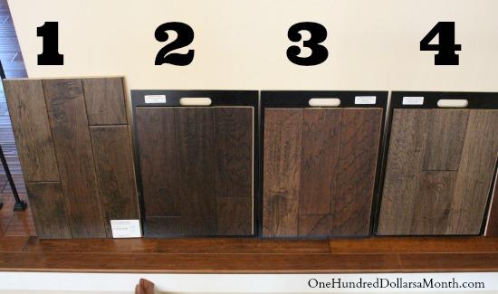 dark brown hardwood floor colors
