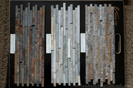 emser slate stacked tile board