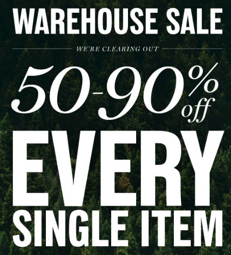 the clymb warehouse sale