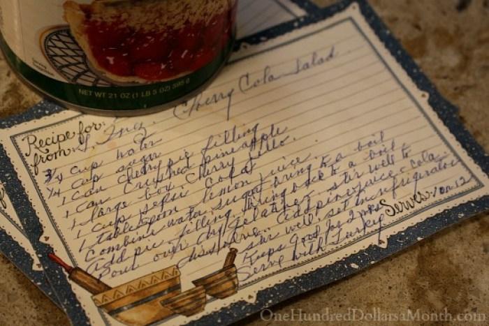 Cherry Cola Jello Salad Recipe