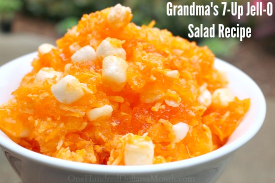 7-Up Jell-O Salad Recipe