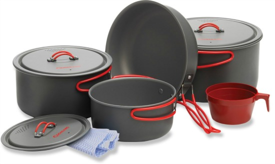 Coghlans Hard Anodized Cook Set