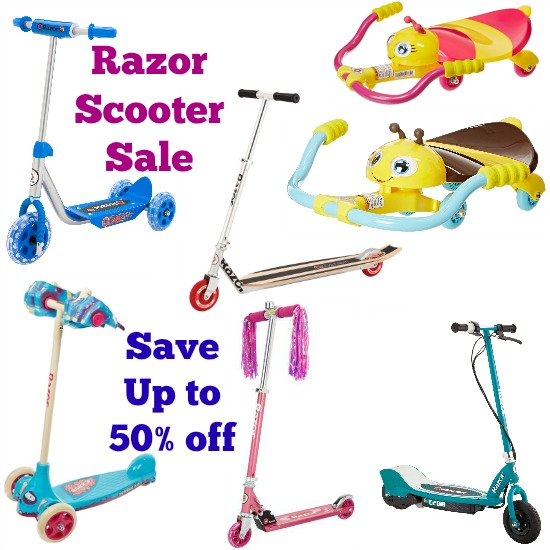 deals on razor scooters