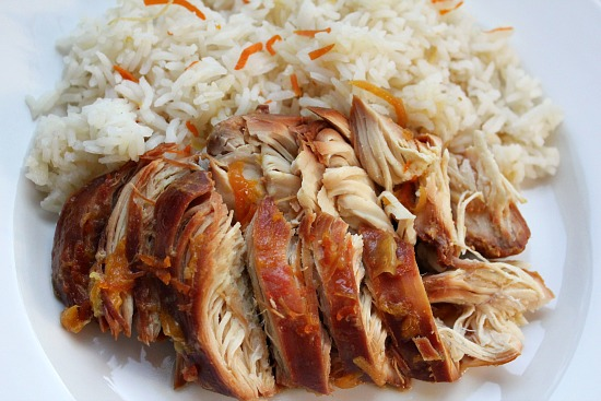 Easy-Crock-Pot-Recipes-Chicken-with-Orange-Marmalade