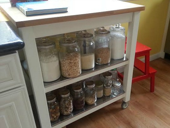 ikea pantry cart