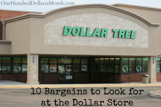 10 Bargains to Look for at the Dollar Store