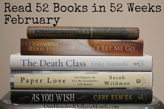 Read 52 Books in 52 Weeks Challenge – February