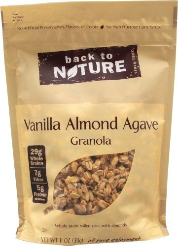 back to nature granola