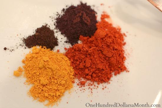 cushings rug hooking dyes