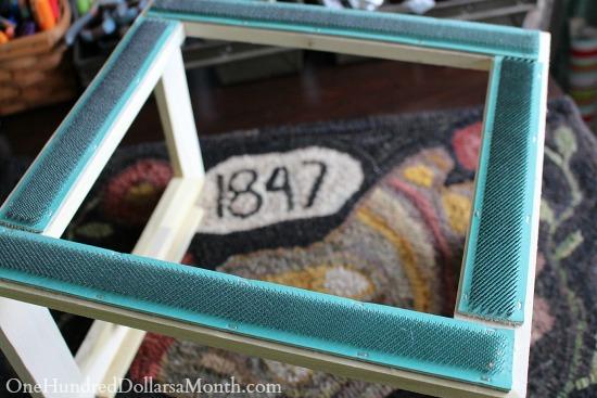 rug hooking frame