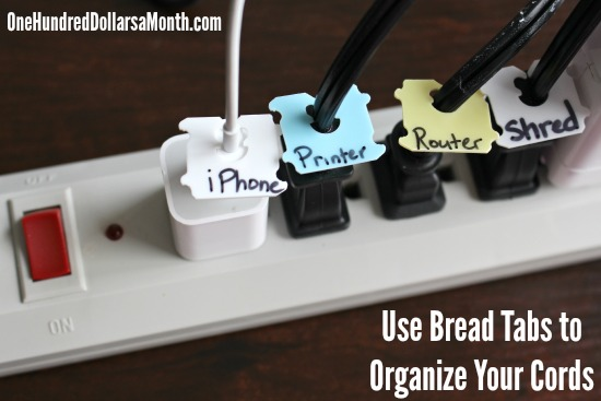 Easy Organization Tip – Label Your Cords