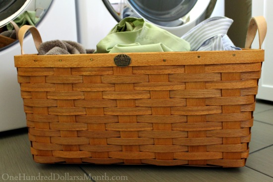 Peterboro Basket Company laundry basket
