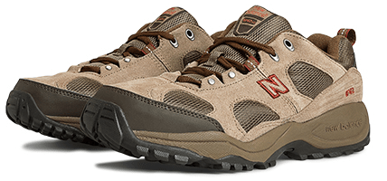 new balance brown walking shoe