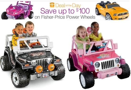 power wheels discount