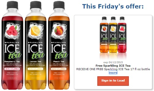 sparkling ice tea coupon