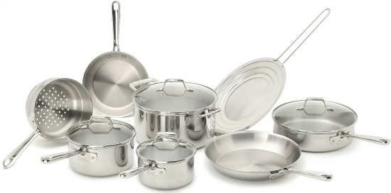 Emeril by All-Clad 12 Piece Stainless Steel Cookware Set